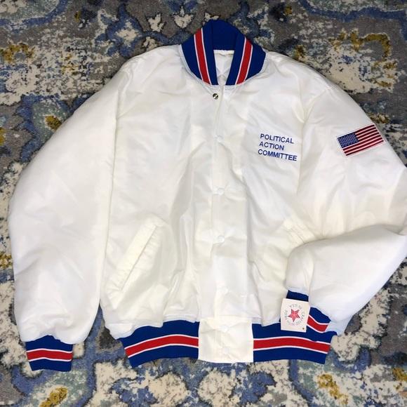 Vintage Other - VTG Political Action Committee Carpenters jacket